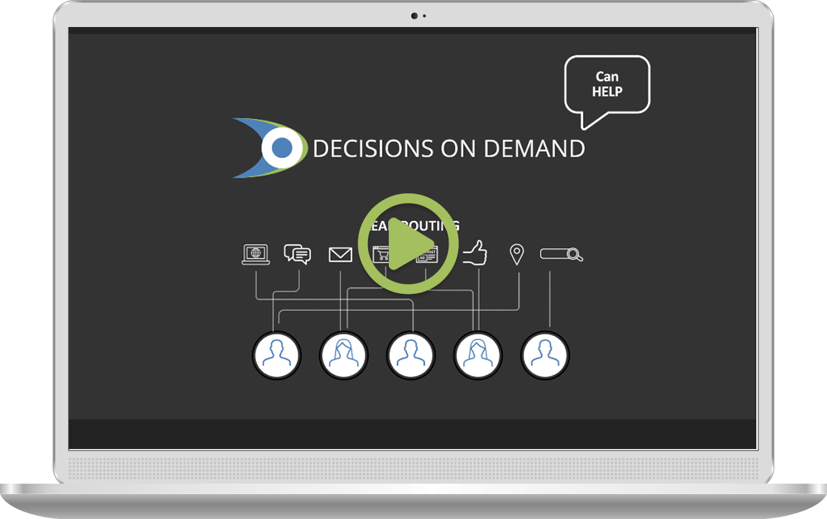 Decisions on Demand Product Video